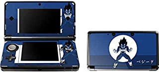 Skinit Vegeta Monochrome Skin for 3DS (2011) - Officially Licensed Dragon Ball Z Gaming Decal - Ultra Thin, Lightweight Vinyl Decal Protection