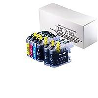 ブラザー用互換 LC213 4色+黒2個 ブラック/シアン/マゼンタ/イエロー 互換インクカートリッジ