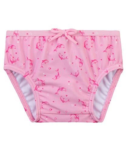 Sanetta Mädchen Baby Badehose Schwimmwindel Rose (323) 80