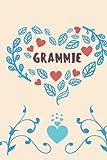 GRAMMIE: Grammie notebook, cute lined notebook, Grammie gifts