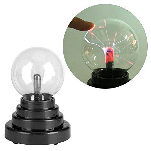 Générique Lampe à Boule USB, Lampe à Boule créative USB/à Piles Party Desk Lamp Chambre Bureau Decor Gift LED Ampoules Ball Lamp Decor
