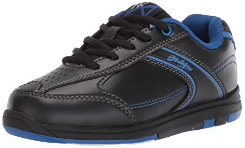 KR Strikeforce Bowling Shoes Youth Flyer Bowling ShoesBlack/Magenta Blue M US, Black/Magenta Blue, 3