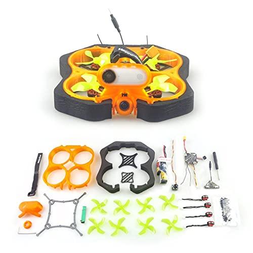 HappyModel CINE8 CrazyF411 PRO 20A 400mW Caddx ANT 1200TVL EX1202.5 KV8000 2-3S 85mm Brushless Cinewhoop FPV DIY KIT Drone