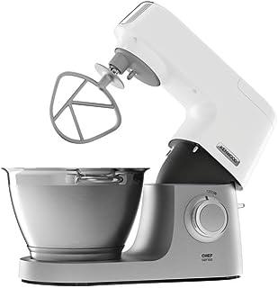 KENWOOD 凯伍德 全自动家用厨师机 KVC5100T 无级变速 抬头可自动断电 白色(海外自营)(国内官方联保两年)(包邮包税)