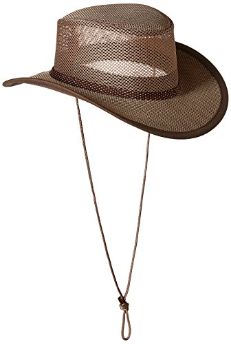Stetson Men's Mesh Covered Hat, Walnut, X-Large -  STC205-WLNT4