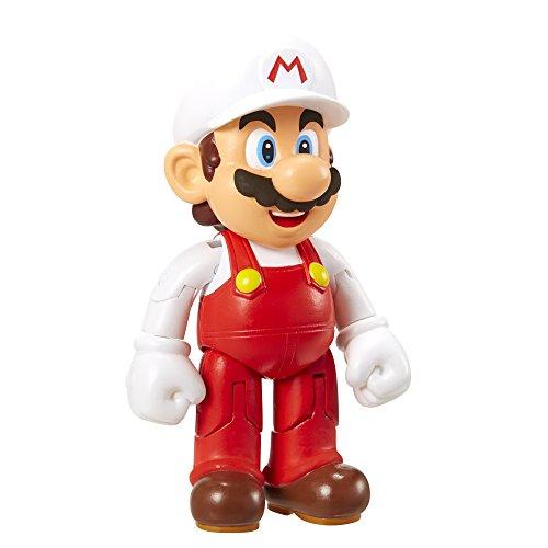 Nintendo Figur (10cm) W3 - Mario mit Fire Flower