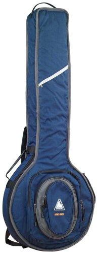 Boulder CB-369BL Alpine Deluxe Resonator Banjo Gig Bag - Navy Blue