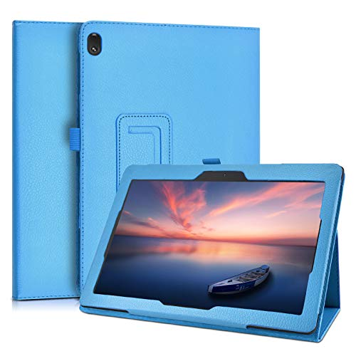 KATUMO Case for Lenovo Tab E10 10.1 inch Folio Case with Pen Pot Flip Case for Lenovo Tab E10 TB-X104F Book Cover
