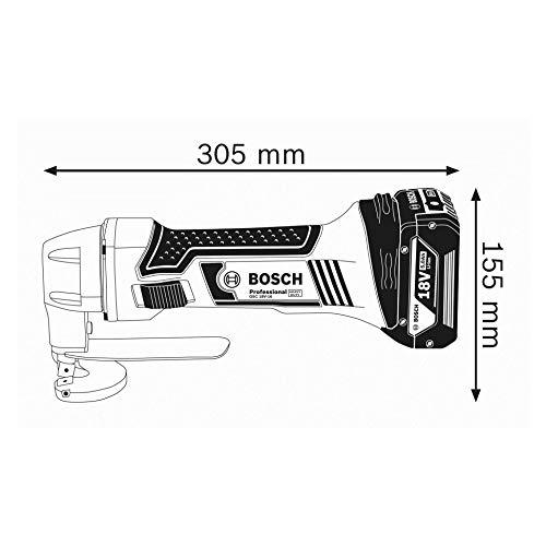 Bosch Professional 18V System Akku Blechschere GSC 18V-16 (ohne Akkus und Ladegerät, im Karton)