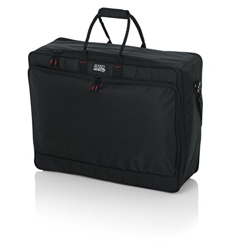 Gator Cases Padded Nylon Mixer/Gear Carry Bag with Removable Strap; 25' x 19' x 8' (G-MIXERBAG-2519)