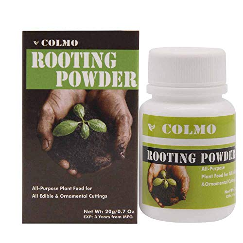 Colmo Rooting Powder for cuttings Miracle Grow Potting Soil Fertilizer 20g (20g)