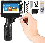 Vigvigo 600 DPI Stampante Palmare Portatile con Cartuccia d'inchiostro, macchina per codifica a getto d'inchiostro con Touch Screen 4,3 Pollici per etichetta, codice a barre, logo Supporta 11 Lingue