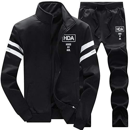 AOTORR Men's Casual Sweat Suit Set Full Zip Tracksuit Jogging Running Sportswear