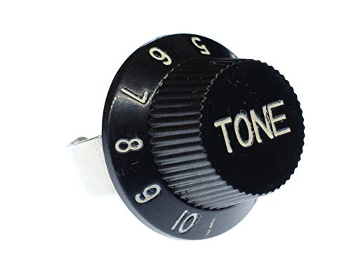 Miniblings Tone Poti Potentiometer Ring Gitarre E-Gitarre Fingerring Tone Knopf