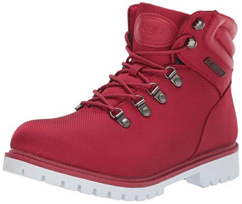 Lugz Women's Grotto II Fashion Boot, mars red/white, 8 M US