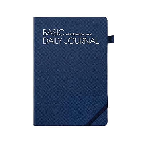 Diario Notebook Business Simple Multi-Funcho Cuaderno Sub-Conference Record Esta Línea Horizontal Oficina Cuaderno 128 Hojas Sketchbook (Color : Blue, tamaño : 14.6 * 21.5cm)