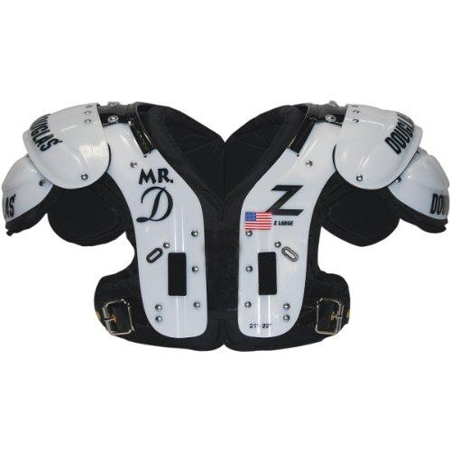 """Douglas SP Series """"Mr. D"""" OL-DL Football Shoulder Pads - One Color Extra Large"""