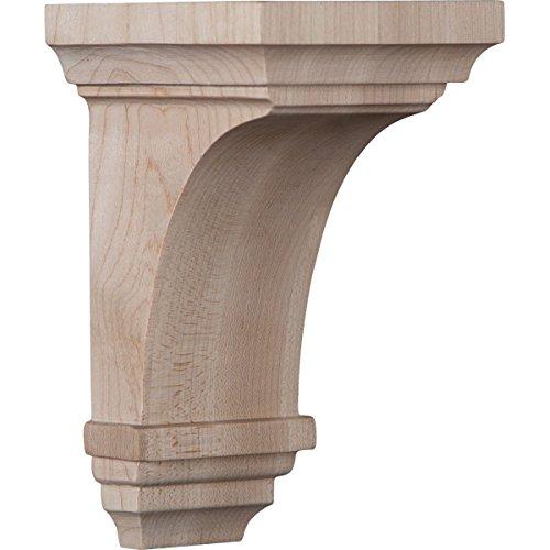 Ekena Millwork CORW03X03X06JERW Wood Corbel, 3 1/2