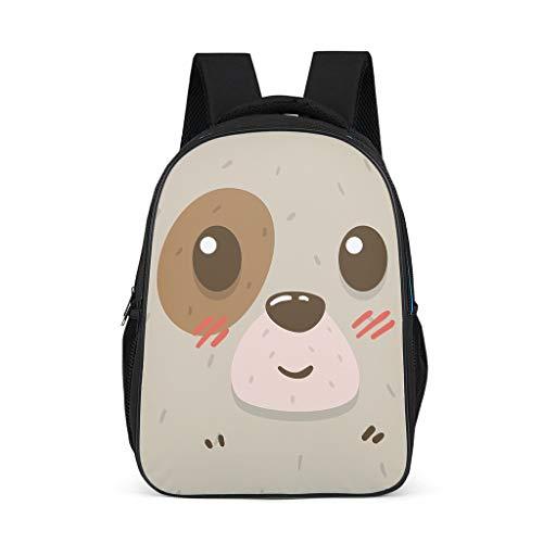 animal Baby Boy's&Girl's Kindergarten Backpack Classic Causal for School and Travel animal grey onesize