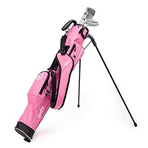 Sunday Golf - Lightweight Sunday Golf Bag with Strap and Stand – Easy to Carry and Durable Pitch n...