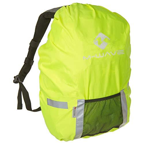 P4B | Regenschutz für Ihr Fahrradgepäck | Wasserabweisend | Mit Reflexstreifen | 25 Liter Volumen | Universeller Taschenüberzug | 100% Polyester