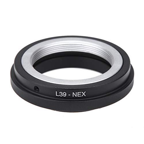 RHNE L39-NEX Anillo Adaptador de Lente de cámara L39 M39 Montura de Lente LTM Alrededor para Sony NEX 3 5 A7 E A7R A7II convertidor L39-NEX Tornillo Negro