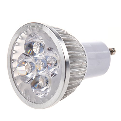 Dcolor 4W 85-265V GU10 waermen weisse LED-Leuchte Lampe Birne Scheinwerfer