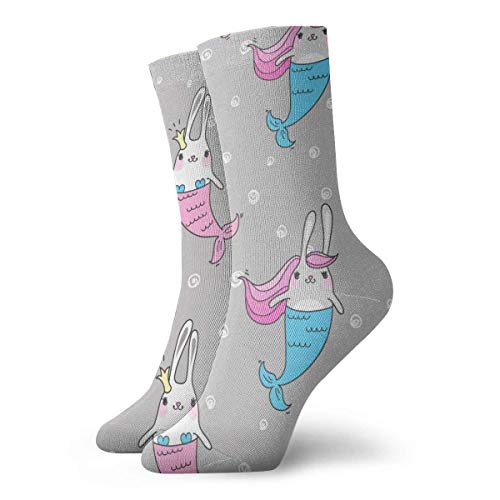 Love girl Unisex Crew Socken Magic Cute Mermaids Fashion Neuheit Dry Sportsocken Strümpfe 30cm