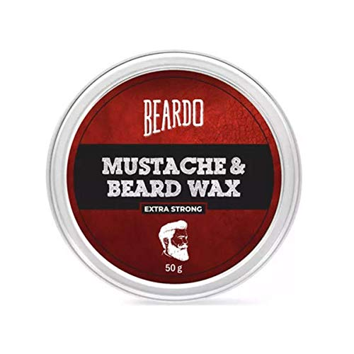 Beardo Beard and Mustache Wax Extra Strong, 50 gm | Made in India