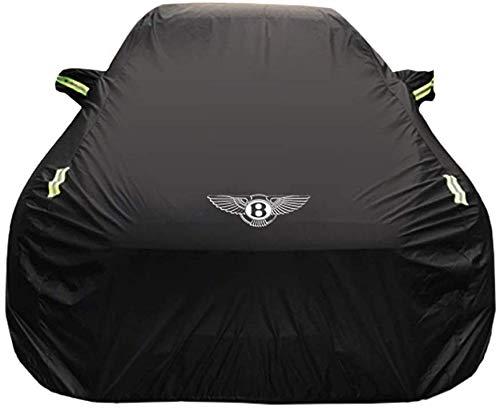 JXXDDQ Autoabdeckung Bentley Continental GT Autoabdeckung dick Oxford Tuch Sonnenschutz Regen Abdeckung Auto Tuch Abdeckung Einlagig (Größe: gefüttert mit Samt)