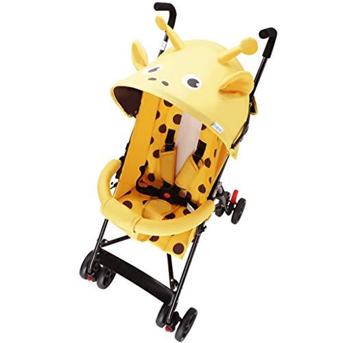 Carritos y sillas de Paseo El Cochecito de bebé se Puede sentar reclinando el Verano del niño Plegable Simple del Cochecito del niño del bebé pequeño Paraguas Ligero Bebé Sillas de Paseo