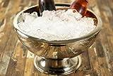 Buddy´s Bar – Champagnerkühler, hochwertiger Sektkühler aus Edelstahl, hochglanzpoliert und doppelwandig, extra robust mit 10,5 L Fassungsvermögen, spülmaschinengeeignet - 5