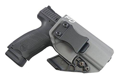 Fierce Defender IWB Kydex Holster CZ P10C The Paladin Series -Made in USA- (Gunmetal Grey)