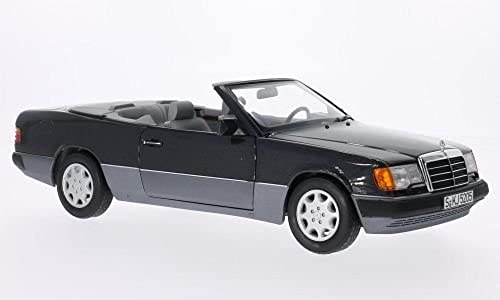 Mercedes 300 CE-24 (A124) Cabriole , metallic-Schwarz Modellauto, Fertigmodell, I-Norev 1 18