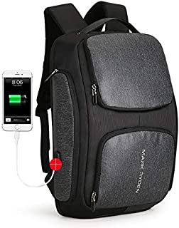 Mark Ryden Multifunction Anti-Theft Business Laptop Backpack Technology Water-Proof Travel Bag with USB Charging fits Unde...
