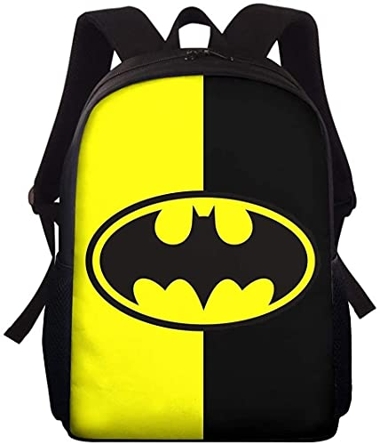 Mochila B-at-m-an The Dark Knight para niños, mochila de guardería, regalo para niños, mochila suelta y cómoda (A01,13 pulgadas)