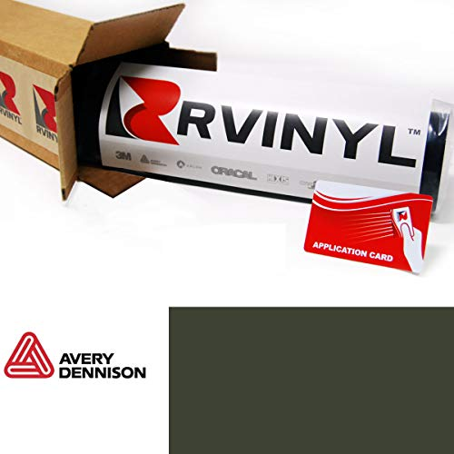 Avery SW900 732-O Matte Olive Green Supreme Wrapping Film Vinyl Vehicle Car Wrap Sheet Roll - (24' x 60' w/Application Card)