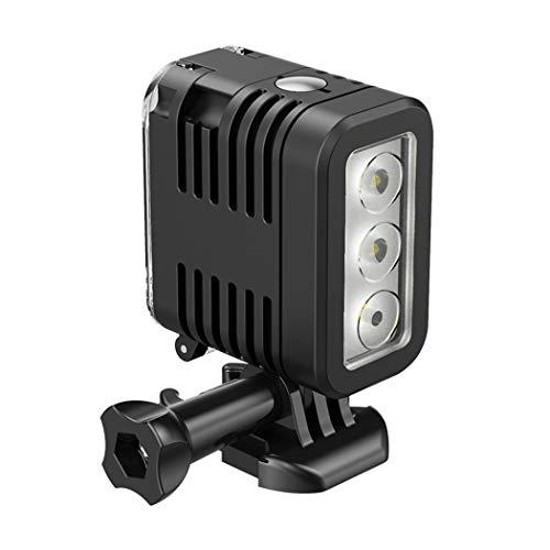 Movimiento luz de buceo para GoPro Hero 6 5 SJCAM 3-7V 1000mah portátil bajo el agua