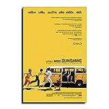 ZQM Little Miss Sunshine Poster, dekoratives Gemälde,