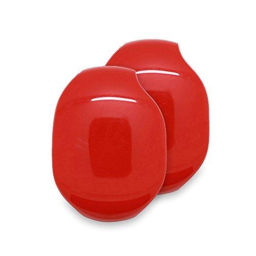 ZAMAC 2 pcs Storage Le Écouteurs Intra-Auriculaires Smart Boîte de Rangement/Organiseur de Stockage de câble pour Casque/écouteurs Support Coque/écouteurs Enrouleur Wrap/Fils Keeper
