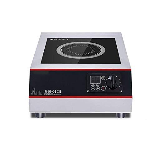 Cocina de inducción for uso profesional, 5000w plana estufa sopa, cocina de inducción de alta potencia, restaurante equipo de cocina comercial, el panel de cerámica panel de cristal negro micr