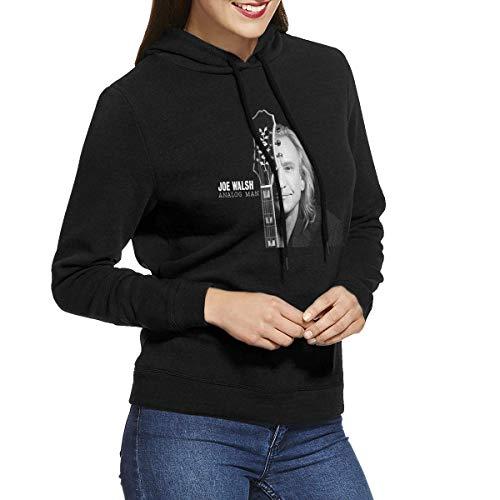 HSJSS Women's Joe Walsh Analog Man Hoodies Sweatshirts