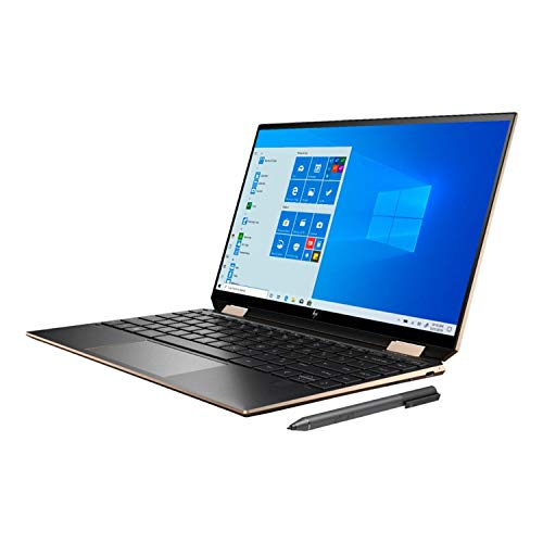 HP Spectre X360 2020 GEM Cut 13.3' FHD Touch Laptop, Intel i7-1065G7, 16GB RAM, 512GB SSD, Bang & Olufsen, Fingerprint Reader, HP Stylus, Nightfall Black, Win 10 Pro, 64GB TechWarehouse Flash Drive