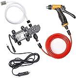 Pompe lave-auto 100W: Pompe lavage haute pression Pompe eau nettoyage...
