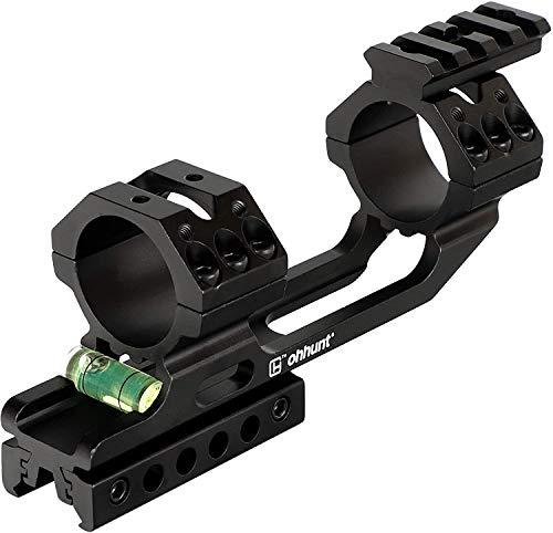 WINFREE 11mm 3/8' Dovetail 20mm Picatinny Weaver Riflescope Rings 25.4mm 30mm Offset Scope Mount Rail Bubble Level
