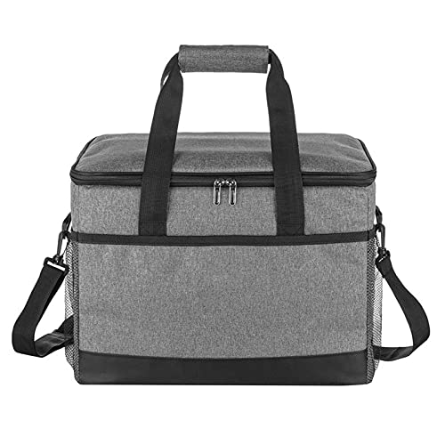 OIHODFHB Bolsa de picnic, bolsa de aislamiento térmico de gran capacidad para aislamiento térmico y almacenamiento en frío, bolsa de picnic a prueba de fugas