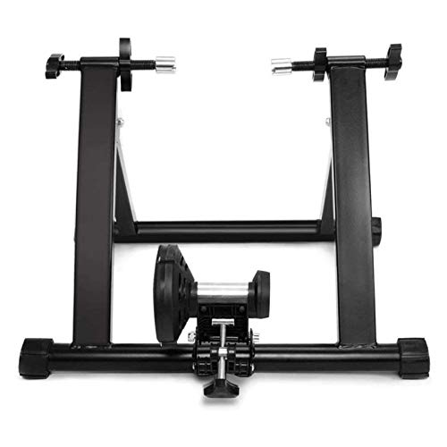 Fluid Bike Trainer Stand, Indoor Turbo Trainers With Variable Resistance, Noise Reduction, Folding Bicycle Training Stand for 20-28 Inch Bikes Or Wheel ( Size : 700C wireless )