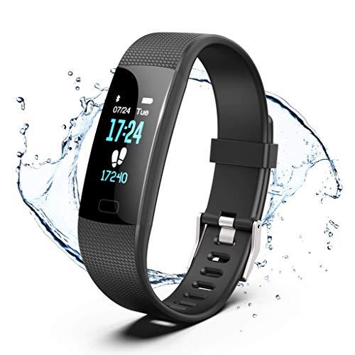 GetPlus Pulsera Inteligente Reloj Deportivo Mujer y Hombre – Monitor Actividad Fisica, GPS y Ritmo…