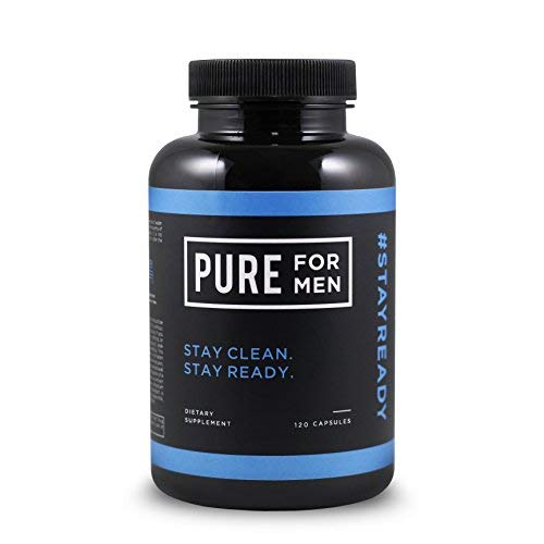 Pure for Men - The Original Vegan Cleanliness Fibre Supplement, 120 Capsules - Proven Proprietary Formula