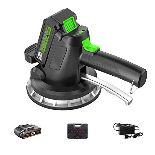 Wgwioo Tile Laying Machine, Electric Tiling Machine, Handheld Tile Tiler Vibrating Tool, Portable Electric Automatic Leveling Machine Tool
